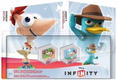 Disney Infinity Toy Box Pack Phineas & Ferb