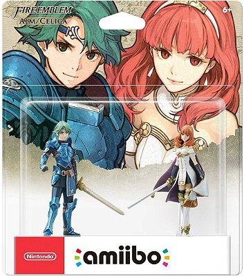 Alm & Celica Fire Emblem Amiibo 2-Pack - Nintendo 3DS