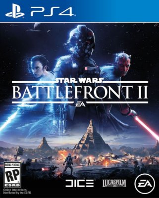 Star Wars Battlefront II - PS4 + Mousepad Battlefront II
