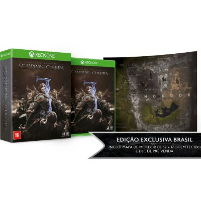 Middle-Earth Shadow Of War Sombras da Guerra Ed. Limitada - Xbox One