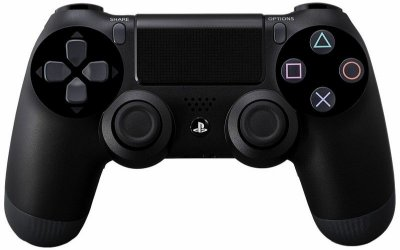 Controle Dualshock 4 Wireless Black Preto - PS4