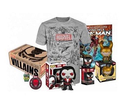 POP Funko Collectors Box Marvel Villains