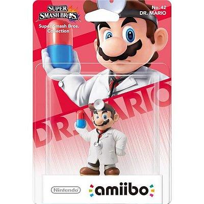 Amiibo Dr Mario Doctor Mario