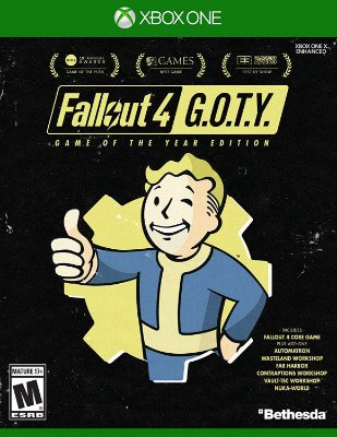 Fallout: 4 Game of The Year Edition - Xbox One