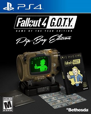 Fallout 4 Game of The Year Pip-Boy Edition - PS4