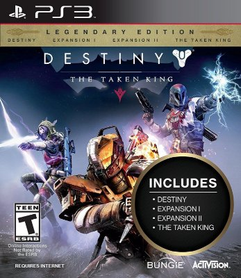 Destiny The Taken King Legendary Edition - Ps3