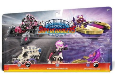 Skylanders Superchargers 3 pack: Bone Bash Roller Brawl, Tomb Buggy e Splatter Splasher