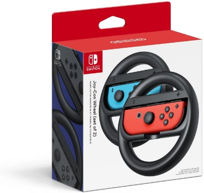 Kit 2 Volantes p/ Switch Joy-Con Wheel - Nintendo