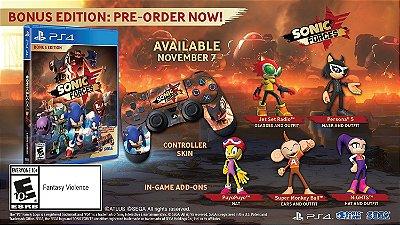 Sonic Forces Bonus Edition - PS4