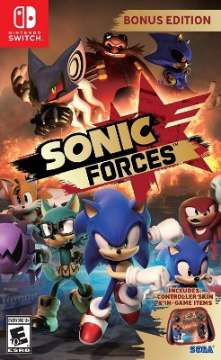 Sonic Forces Bonus Edition - Switch