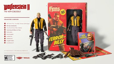 Wolfenstein II: The New Colossus Collector's Edition - PS4