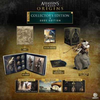 Assassins Creed Origins Gods Collector's Edition – PS4