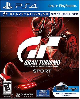 Gran Turismo Sport c/ VR Mode - PS4