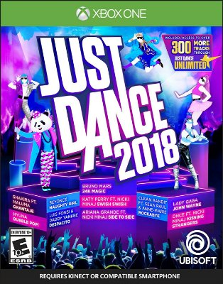 Just Dance 2018 Kinect ou Smartphone - Xbox One