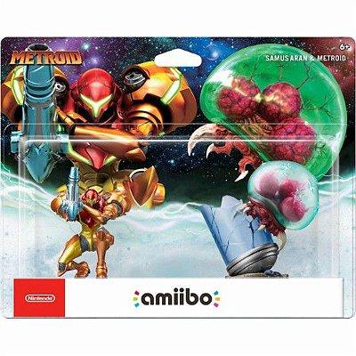 Amiibo - Samus Aran e Metroid (2-Pack)