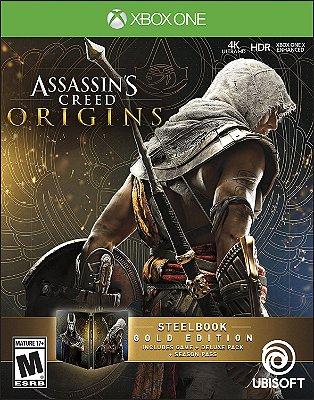 Assassins Creed Origins SteelBook Gold Edition - Xbox One