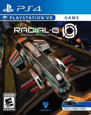 Radial -G: Racing Revolved - PS4 VR
