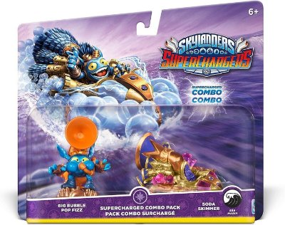 Skylanders Superchargers Big Bubble Pop Fizz Soda Skimmer