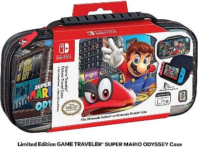 Deluxe Game Traveler Case Mario Odyssey - Switch