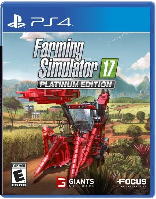 Farming Simulator 17 Platinum Edition - PS4