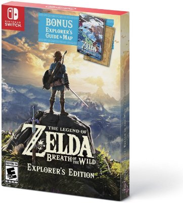 The Legend of Zelda Breath of the Wild Explorers Edition - Switch