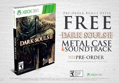 Dark Souls II Black Armor Edition - Xbox 360