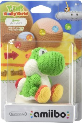 Amiibo Green Yarn Yoshi (Yoshi's Woolly Series)