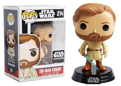Funko POP Star Wars 214 Obi-Wan Kenobi Smuggler's Bounty Exclusive