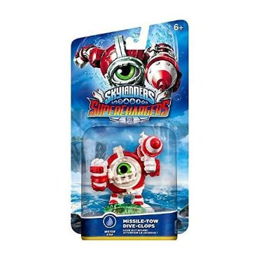 Skylanders SuperChargers Drivers Missile-Tow Dive-Clops