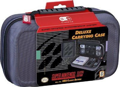 Nintendo Deluxe Travel Case for SNES / NES Classic Edition