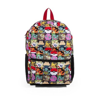 Mochila Pokemon Multi Character Check 16 Backpack