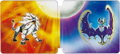 Pokémon Sun + Pokémon Moon Steelbook Dual Pack 3ds