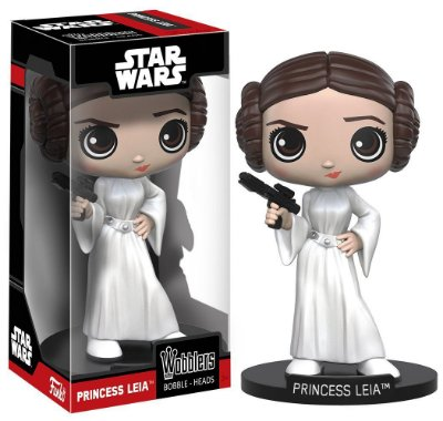 Funko Wobblers Star Wars Princess Leia Bobble-Head