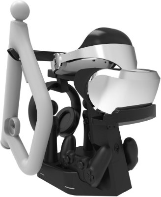 PSVR Showcase Rapid AC VR Charge e Display Aim Controller Stand