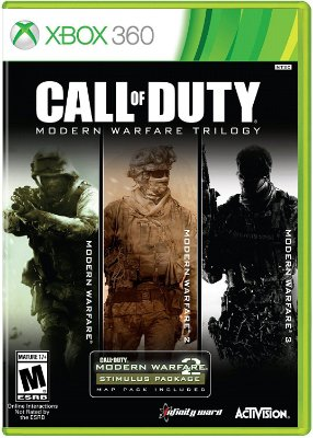 Call of Duty Modern Warfare Trilogy Collection - Xbox 360