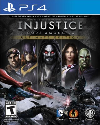 Injustice: Gods Among Us Ultimate Edition - PS4