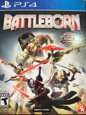 Battleborn Bonus Collectible Figure - PS4