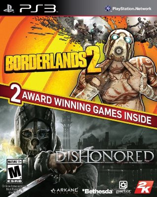 The Borderlands 2 & Dishonored Bundle - PS3