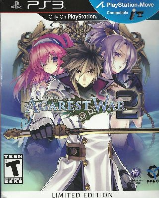 Record Of Agarest War 2 Limited Edition - PS3