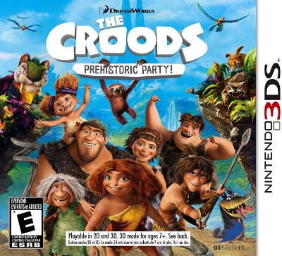 The Croods: Prehistoric Party! - 3DS