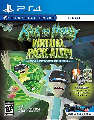 Rick & Morty Virtual Rick-Ality Collectors Edition C/ Pop - PS4 VR