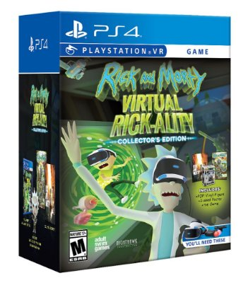Rick & Morty Virtual Rick-Ality Collectors Edition C/ Pop - PS4 VR