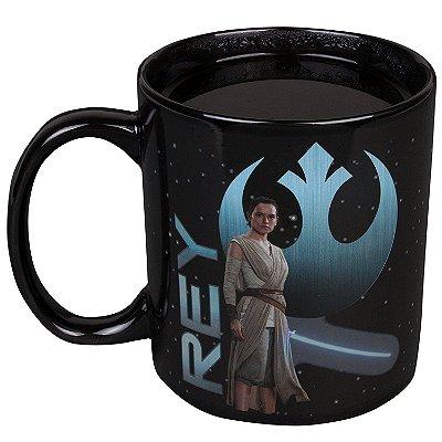 Caneca Star Wars The Last Jedi Episode 8 Rey Mug Termoativada