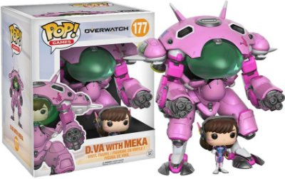 Funko Pop Games Overwatch 177 D.VA With Meka