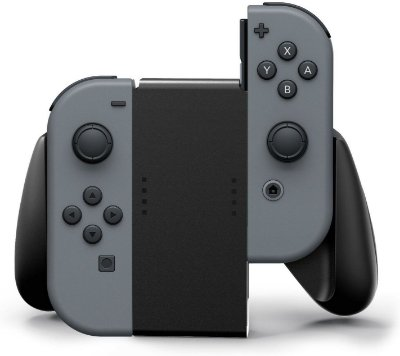 Joy-Con Comfort Grip for Nintendo Switch - Black