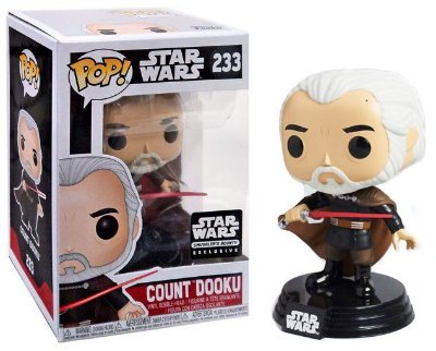 Funko Pop Star Wars 233 Exclusive Count Dooku