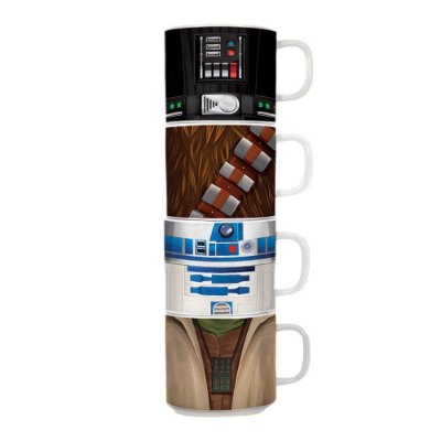 Kit Canecas Star Wars 4 Peças Ceramic Mug Set