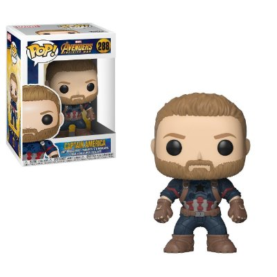 Funko Pop Marvel Avengers Infinity War 288 Captain America