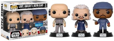 Funko Pop Star Wars 3 Pack: Lobot, Ugnaught & Bespin Guard
