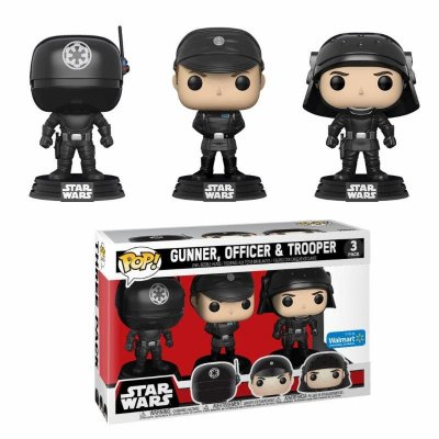 Funko Pop Star Wars 3Pack Death Star Gunner, Officer e Trooper